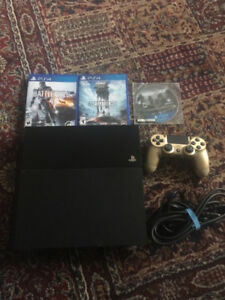 1tb Ps4 console with games