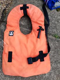 Old school buoyancy aid