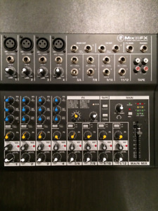 Mackie 12 Channel Mixer w/Effects