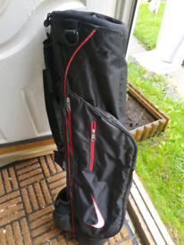 Vgc Nike pencil carry golf bag