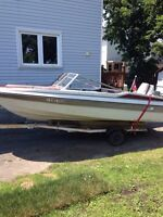 1986 MARVAC 16ft with 30hp Johnson for sale