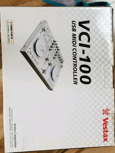 Mini-tables tournantes / Mixer Vestax VCI-100 (Silver)