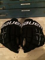 Used Bauer gloves