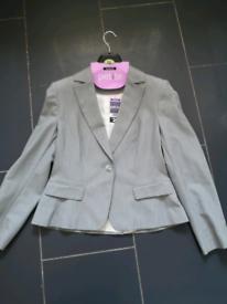 Brand new grey petite suit blazer..size 12