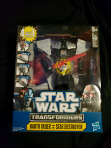 BNIB Darth Vader Star Wars Transformers
