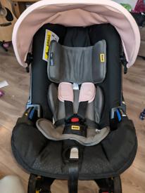Doona car seat and isofix base