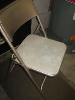 Vintage Samsonite Folding Chairs - Set of 4 for $10