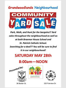 Grandwoodlands Neighbourhood Yard Sale