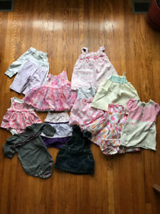 3-6 months baby girl lot