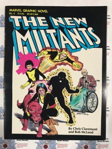 Graphic Novel: The New Mutants No. 4  (1982 4th Printing)