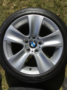 "BMW 17"" OEM Wheels (set of 4) Excellent like new condition"