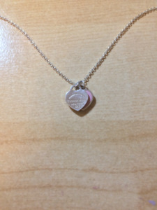 Authentic preowned Tiffany & Co. 'return to tiffany' necklace