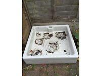 Ceramic Twyfords shower tray