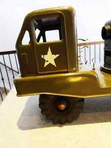 1950s NYLINT PRESSED STEEL electronic cannon truck WORKING Kitchener / Waterloo Kitchener Area image 3