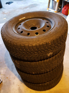 16 Inch used steel winter tire rims