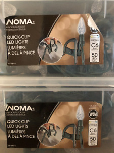 NOMA 50 Outdoor Super Bright C6 LED Christmas Lights