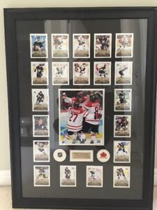 Sidney Crosby Golden Goal / First Cards framed picture