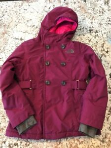 Girls - North Face size 7/8 Winter Jacket