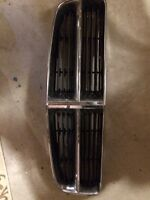 Dodge Charger chrome trim front grill