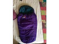 Baby camping sleeping bag