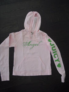 Ladies Pink Hooded Juicy Couture Sweatshirt Size Medium London Ontario image 1