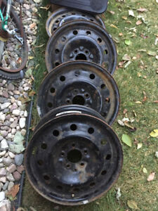 5x114.3 Rims Steel Wheels - Perfect for Winter Rims - $80 ALL