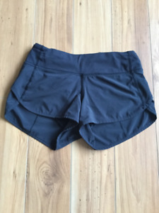 Shorts noirs Lululemon