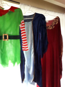 Various costumes for sale