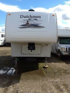 REDUCED - 2007 Dutchmen 24L 5th Wheel with Large Slide