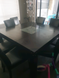 Dining table..