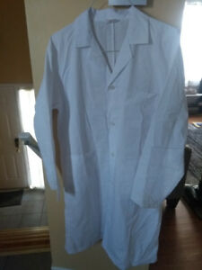 Chemistry Lab Coat and Goggles