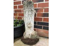 Tall vintage garden plinth, pedestal, plant stand