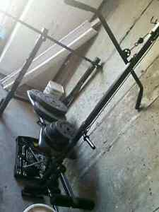 Weight bench with weights asking 150$ or best offer