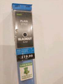 Blackout roller blind - blue - Dunelm Mill - Brand New - SALE
