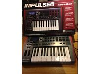 Impulse 25 key professional usb-midi keyboard