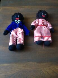 Pair of Golly Dolls