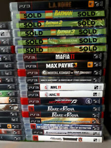 VIDEO GAMES -  PS2 / PS3 / XBox / XBox 360