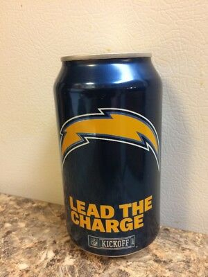 2017 San Diego Chargers bud light nfl kickoff beer can collectors 666344