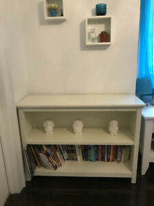 Pottery Barn Kids White Wooden Bookcase