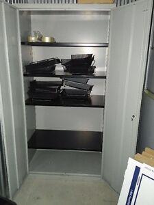 2 door storage cabines