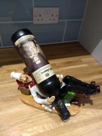 Drunk chef novelty wine bottle holder.