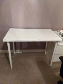 FREE- White IKEA desk/table.