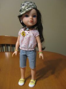 """HEARTS FOR HEARTS DELL DOLL PLAYMATES 14"""""""