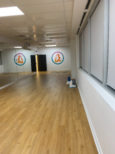 Beautiful 800sqf studio space to rent in Stouffville!
