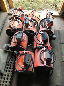 240v Electric Heaters