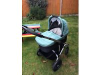 Uppababy vista pram and pushchair combo