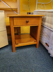 Large pine bedside tables 2 available £20 each