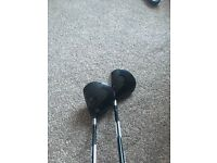 Taylormade 3 & 5 wood and Nike rescue