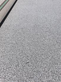 BRAND NEW PIECE! EXCELLENT QUALITY GREY CARPET(COMAR)