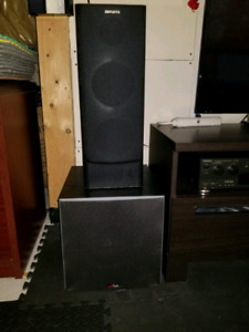 Stereo speakers, surround sound speakers ,TV speakers,  receiver